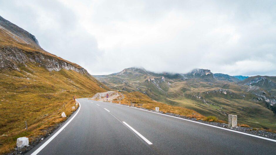 Grossglockner Road in Austria